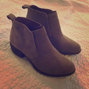 Lucky Brand Shoes - Lucky Brand Suede Booties